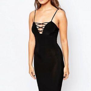 ASOS Club L Essentials Midi Dress